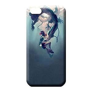 MMZ DIY PHONE CASEiphone 5/5s Shock Absorbing dirt-proof High Grade cell phone carrying shells haku / spirited away / studio ghibli