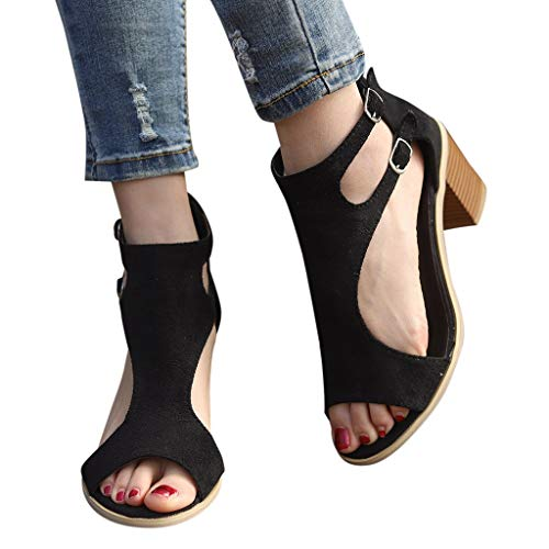 Best Women Shoes for Standing All Day,melupa Spring Summer Ladies Sandals Fashion Fish Mouth Hollow Out Roma Shoes