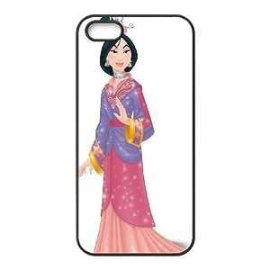 iphone5 5s Black phone case Disney Cartoon Mulan EYB7278105