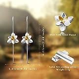 Lotus Fun S925 Sterling Silver Drop Earrings