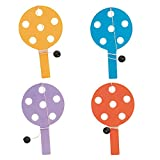 Unique Party  74056  - Hi-Lo Bat and Ball Games Party Bag Fillers, Pack of 12