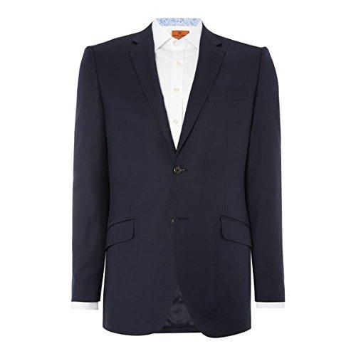[サイモンカーター] メンズ ジャケット&ブルゾン Intrepid Grant Navy Suit Jacket [並行輸入品] B07F38R99S 46 Regular