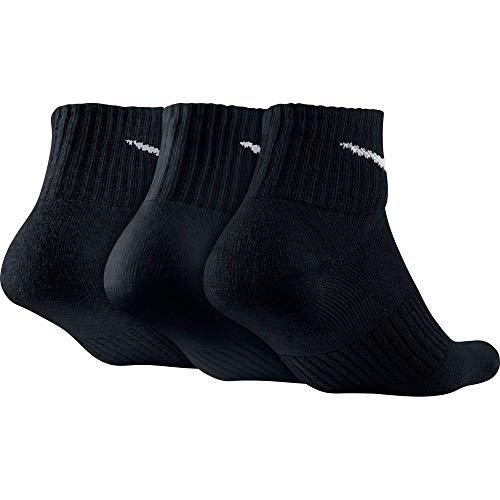 38 Nike 42 3 Cushion Blanc noir Chaussettes De Noir blanc Adulte Quarter noir Mixte Lot qTqcBSv
