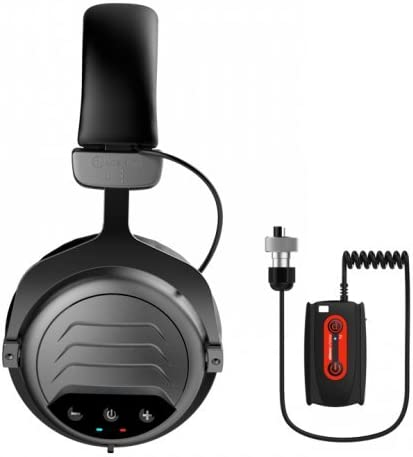 Quest 1V_1604.104 Wireless Headphones WA PRO for Garrett at ATX Metal Detector, Black