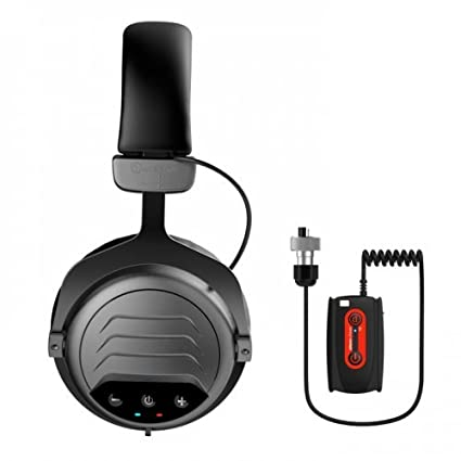 Amazon.com : Quest 1V_1604.104 Wireless Headphones WA PRO for Garrett at ATX Metal Detector, Black : Garden & Outdoor