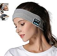 Andyshi Wireless Sports Headband Headphones,Sleep Bluetooth Over Ear Headphones Headband, Winter Headband Ear