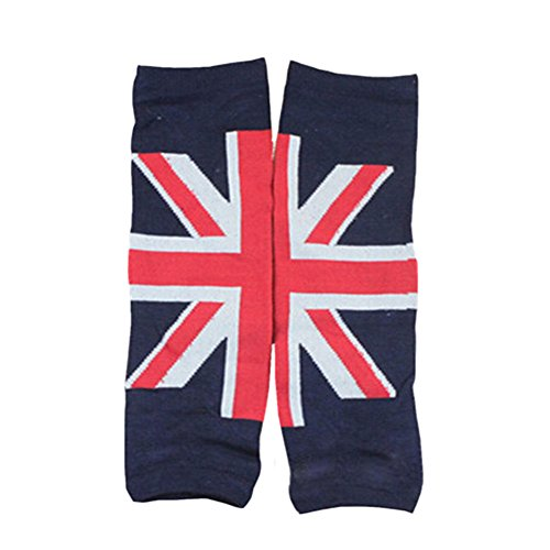 Set of 2 Classic Union Jack Baby Boy/Girl Leg Wamers Toddler Leg Guards,0-5Yrs
