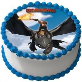 Tortenaufleger Dragons 04 Amazon De Kuche Haushalt