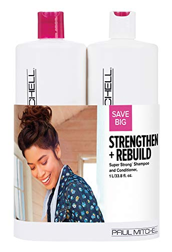 Paul Mitchell Strengthen + Rebuild Super Strong Liter Duo Set from Paul Mitchell