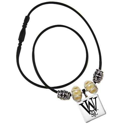 ashington in St. Louis Life Tiles Necklace with Beads (Louis Tile)