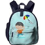 Ikejsne Funny Schoolbag Backpack A Kite Boy Toddler Kids Pre School Bag Cute