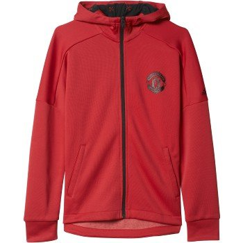 adidas Youth Large Manchester United Hoodie Jacket – DiZiSports Store
