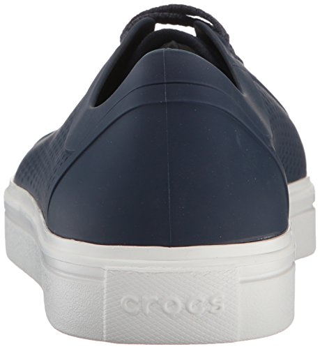 84a81a9f6a7 Crocs Mens Citilane Roka Court Fashion Sneaker Navy white 9 M US. About  this product. Picture 1 of 9  Picture 2 of 9  Picture 3 of 9 ...