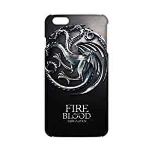 Evil-Store Fire Blood 3D Phone Case for iPhone 6 plus