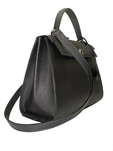 Goods avec Artisan Viviani Sac Florence Leather en noire cuir bandoulière xpnF0