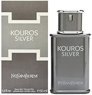 8130e8f4ee Yves Saint Laurent Kouros Silver Eau de Toilette Spray 100ml  Amazon ...
