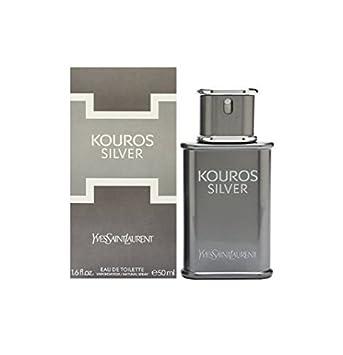 Yves Saint Laurent Kouros Silver Eau de Cologne Spray 50 ml  Amazon.co.uk   Beauty b9fc00878af