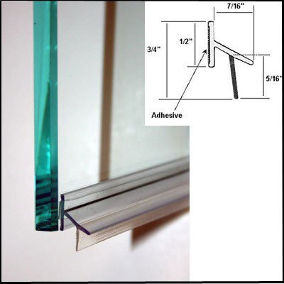 Shower Door Drip Rail W Vhb Tape 33 Long