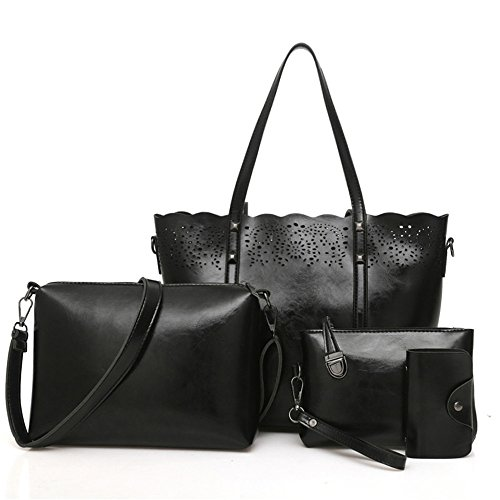 Femenina Package Bag Messenger Moda Gules Fotografía Meaeo Bolso De Bolsa Lady Match black Cruz SWtcgwqP