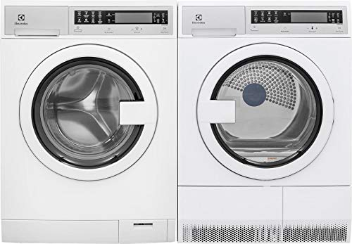 Electrolux White Compact Front Load Laundry Pair with EFLS21