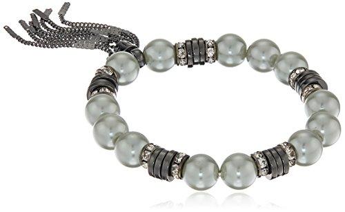 t-tahari-hematite-metal-silver-pearl-tassel-stretch-bracelet