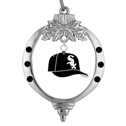 Final Touch Gifts Chicago White Sox Baseball Cap Ornament