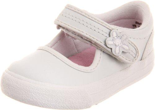 Keds Ella Mary Jane Sneaker (Toddler/Little Kid),White,7.5 M US Toddler