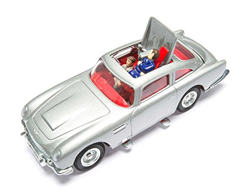 Corgi Diecast James Bond - Corgi James Bond Aston Martin DB5 Silver Goldfinger 50th Anniversary CC04203