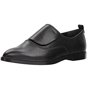 Calvin Klein Women's Dayo Leather Oxford Flat