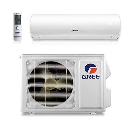 Gree SAP09HP230V1A - 9,000 BTU 38 SEER Sapphire Wall Mount Ductless Mini Split Air Conditioner Heat Pump 208-230V
