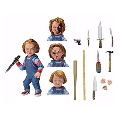 Action Figure Child's Play Ultimate Chucky 7-Inch Scale: Toys & Games