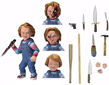 Amazon.com: Juego de niños Ultimate Chucky escala de 7-inch ...