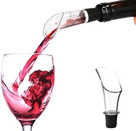 Stone TH Sacacorchos Eléctrico, Recargable Abridor de Vino Automatico Profesional con Cortacapsulas Botella, Vertedor de Vino, Tapón de Vino de Vacío