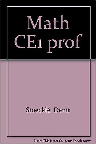 En ligne Math élém. Cycle des apprentissages fondamentaux, CE1 : livre du maître pdf, epub ebook