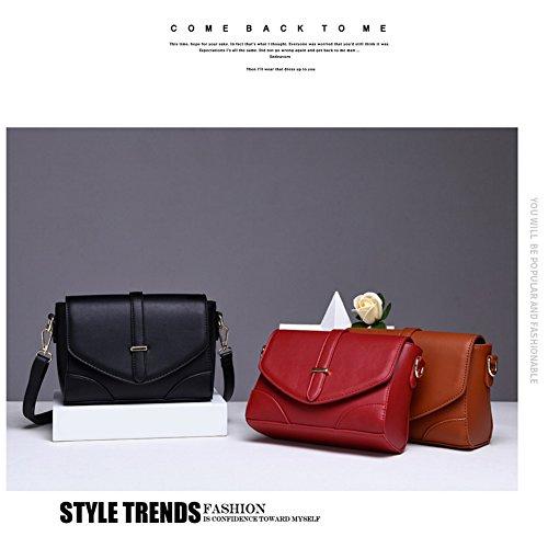 Borse Bag E Flap Rosso Portafogli Valigetta Vintage Borsa Retrò Yoome Donna Messenger zg5w1qq