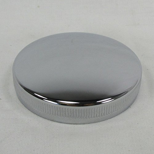 1936 - Early 1973 OE Harley Chrome Vented Motorcycle Gas Tank Cap Bayonet CAM style - Replaces HD Part # 61103-36 - Chopper Bobber Cafe - Early Tank