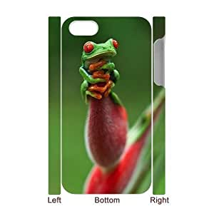 Frog DIY 3D Cover Case for Iphone 4,4S,personalized phone case ygtg532140