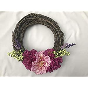 Peony Grapevine Wreath 104