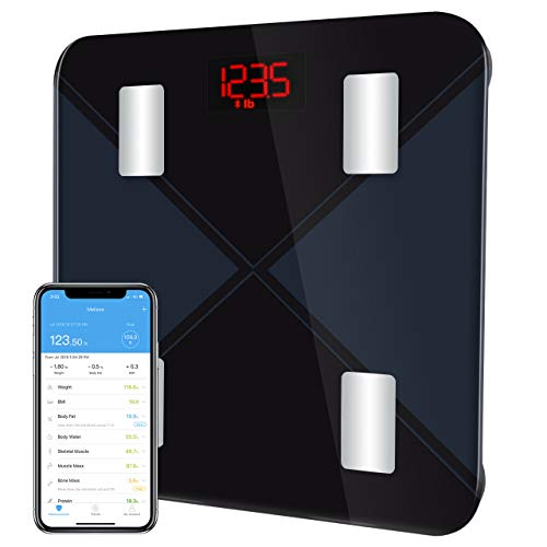 Smart Body Weight Scale, TopElek Bluetooth Body...