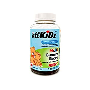 allKiDz® Multi Gummy Bears multivitamin for kids children (110)