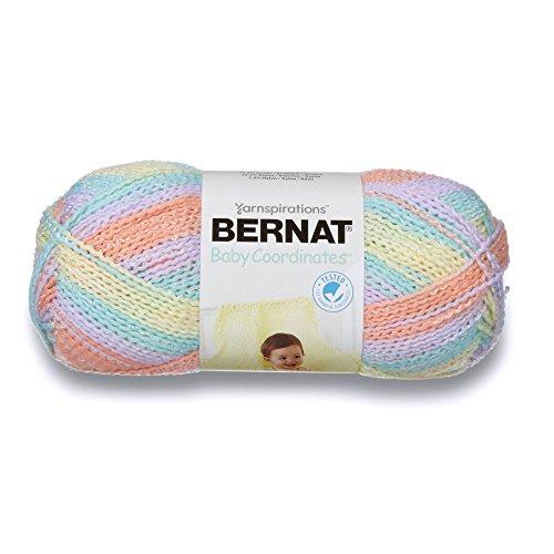 Bernat Baby Coordinates Ombre Yarn, 4.25 oz, Cotton Candy, 1 Ball