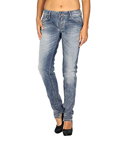 MELTIN'POT - Women's Jeans Marcelle - Skinny Fit - Length 31 - Blue, W31
