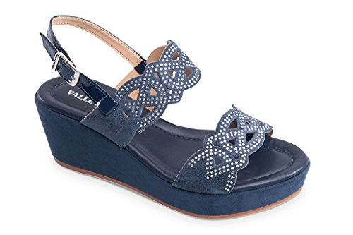 Sandales pour Sandales Femme Valleverde Femme Sandales Bleu pour Bleu Valleverde Valleverde nw0a6885Bq