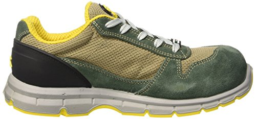 Oliva Corda Work shoes Run S1p EU Verde Low 38 5 Green Diadora Unisex beige Textile Adults' UK vY7qS
