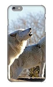[aoVSJQ-4530-WojoA] - New Animal Wolf Protective Iphone 6 Plus Classic Hardshell Case