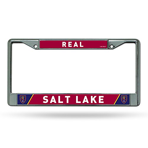 MLS Real Salt Lake Chrome Plate Frame, Silver, 12-inch by - Salt Frames