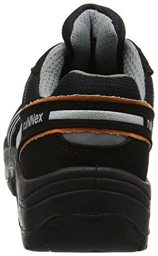 Teamstar 39 Taille 5205 S2 Runnex Chaussures De Sécurité Noir 39 orange argent XS4qAg