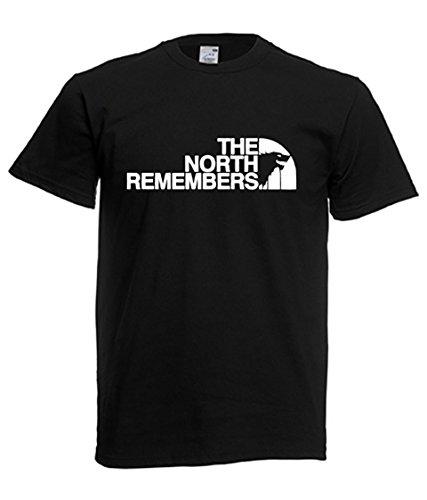 Remembers North T Uomo Donna The Wonderwall Nero shirt qtCwvInSd