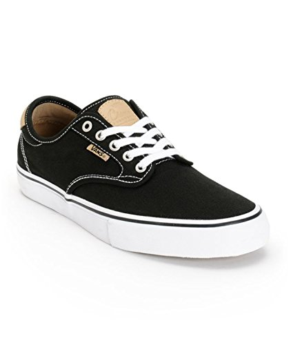VANS Men CHIMA FERGUSON PRO Fashion Sneakers Shoes (11.5, Black/Tan/White)