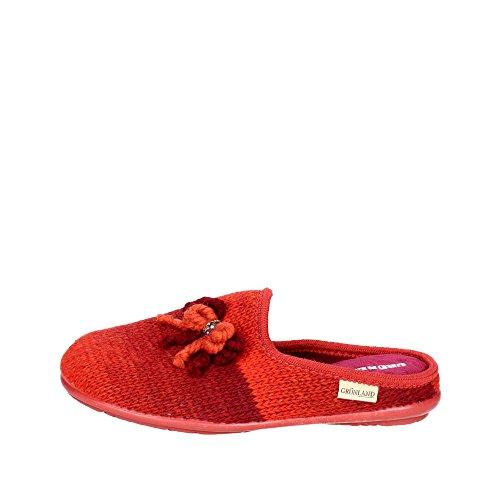 Invernale Rosso Ciabatta CI2200 Donna Grunland B5 qgt4S